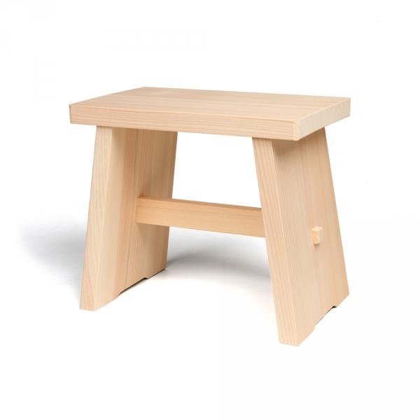 Hinoki bath stool