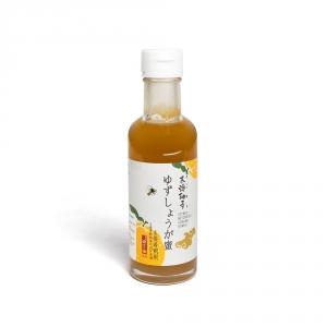 Sirop Yuzu, miel et gingembre