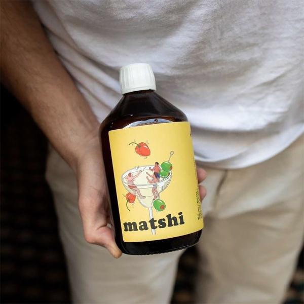 Matshi Gin 50cl - BACCAE x THE SOCIAL FOOD