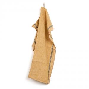 DUO kitchen towel - Yellow