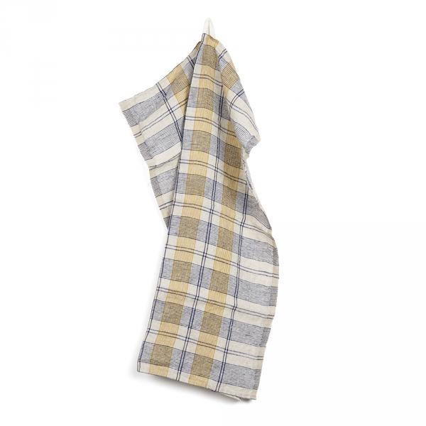 RACCOURCI kitchen towel - Yellow
