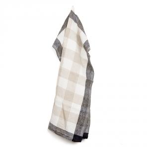 CARREAUX kitchen towel - Black
