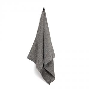 Torchon carré MANON - Moon gray
