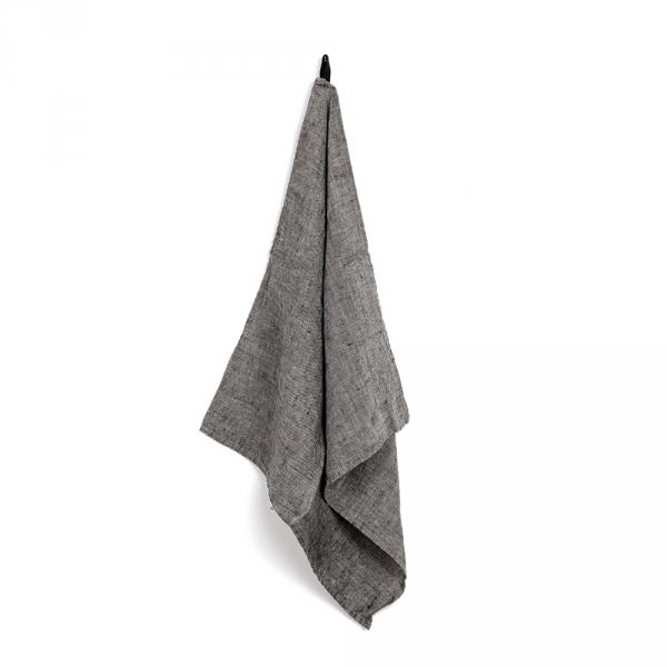MANON square kitchen towel - Moon gray